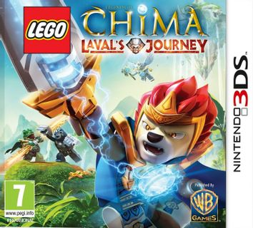 3DS LEGO Legends of Chima: Laval's Journey