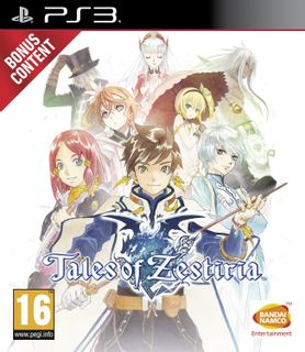 PS3 Tales of Zestiria Day One Edition