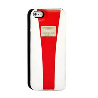 iPhone 5/5S Racing Strap White/Red Back Case
