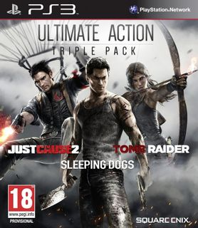 PS3 Ultimate Action Triple Pack: Just Cause 2, Tomb Raider and Sleeping Dogs