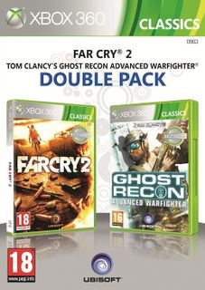Xbox 360 Far Cry 2 and Tom Clancy's Advanced Warfighter - Xbox One Compatible