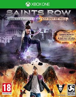 Xbox One Saints Row IV: Re-Elected and Gat Out of Hell