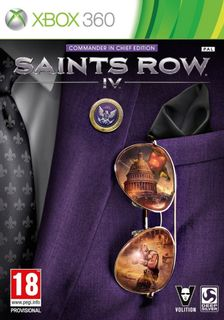 Xbox 360 Saints Row IV: Commander in Chief Edition - Xbox One Compatible