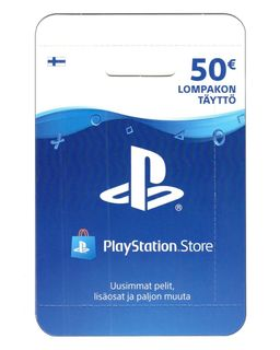 PlayStation Network 50 EUR Card - Finland PSN IDs Only
