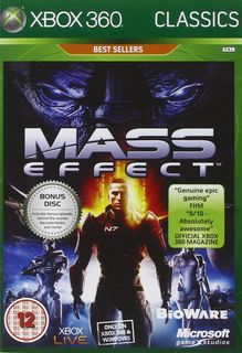 Xbox 360 Mass Effect - Xbox One Compatible
