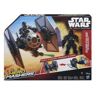 Star Wars: The Force Awakens - First Order Special Forces Tie Fighter And Tie Fighter Pilot