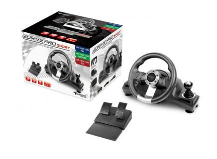 Subsonic Drive Pro GS700 Racing Wheel with Pedals and Gear Shift (PS4, PS3, Xbox One)