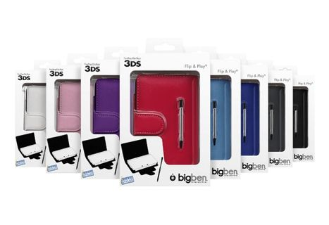 BigBen Flip and Play Cases Random Assortment incl. Stylus (3DS)