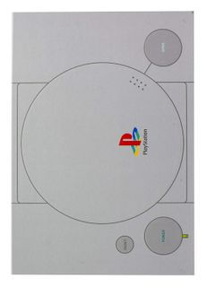 Notebook PlayStation - PS One, Hardcover A5