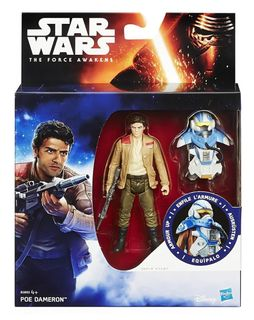 Star Wars: The Force Awakens - Armour Up Poe Dameron Action Figure