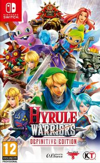 SWITCH Hyrule Warriors: Definitive Edition