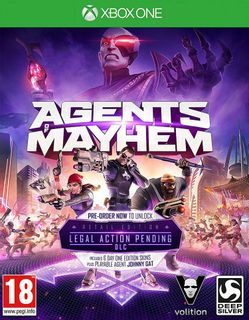 Xbox One Agents of Mayhem Retail Edition incl. Legal Action Pending DLC
