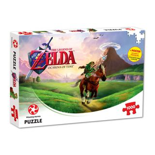 Legend of Zelda - Ocarina of Time Puzzle incl. Poster, 1000 Pieces