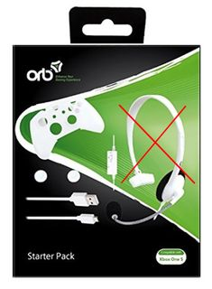 ORB Starter Pack incl. Skin, Cable and 2 Grip Caps (Xbox One S), Without Headset