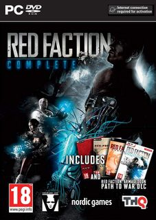 PC Red Faction Complete incl. Red Faction 1, 2, Guerilla, Armageddon