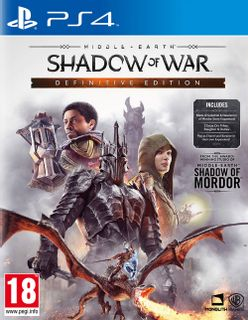 PS4 Middle-Earth: Shadow of War Definitive Edition