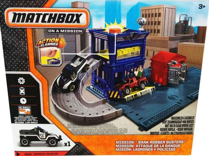 Matchbox on a Mission - Bank Robber Busters incl. MBX Heroic Rescue