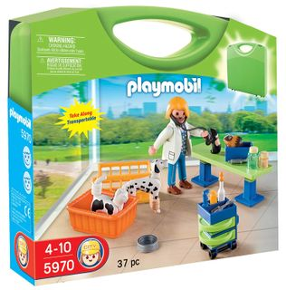 Playmobil: City Life - Animal Clinic Carry Case, 37 Pieces