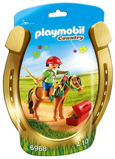 Playmobil: Country - Groomer with Bloom Pony
