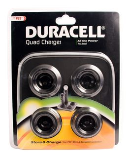 Duracell PlayStation Move Quad Charger (PS3)