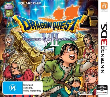 3DS Dragon Quest VII: Fragments of the Forgotten Past