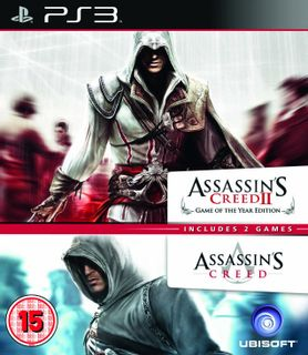 PS3 Assassin's Creed and Assassin's Creed II GOTY Edition Double Pack