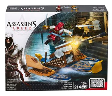 Mega Bloks: Assassin's Creed - Naval Cannon, 214 Pieces