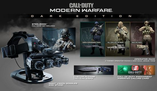 Call of Duty: Modern Warfare Dark Edition - Game Not Included