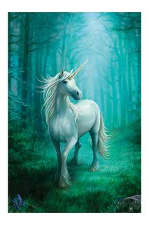 Poster Anne Stokes - Forest Unicorn, 61x91.5cm