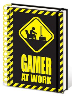 Notebook Gamer At Work, Wired A5