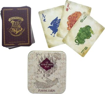 Playing Cards in Metal Case: Harry Potter - Marauder's Map