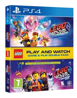 PS4 LEGO Movie 2 Videogame and LEGO Movie 2: The Second Part Double Pack