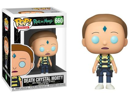 POP! Animation: Rick and Morty - Death Crystal Morty Vinyl Figure