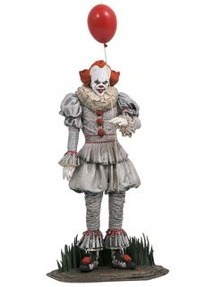 Gallery Diorama: It Chapter Two - Pennywise Statue, 25cm