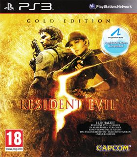 PS3 Resident Evil 5 Gold Edition [USED] (Grade A)