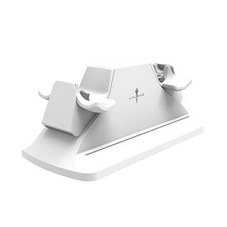 Calibur11 Dual Controller Charging Station - White (PS4) [USED]