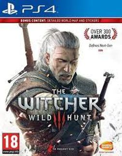 PS4 Witcher 3: Wild Hunt incl. Russian Audio [USED] (Grade A)