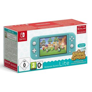 Nintendo Switch Lite - Turquoise incl. Animal Crossing: New Horizons