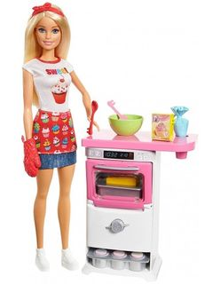 Barbie - Bakery Chef Doll and Playset
