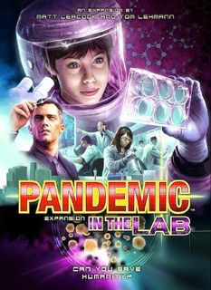 Pandemic - In the Lab Card Game Expansion, 1-6 Players