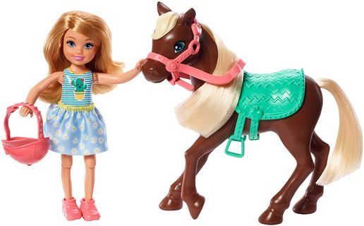 Barbie - Chelsea and Pony, Blonde