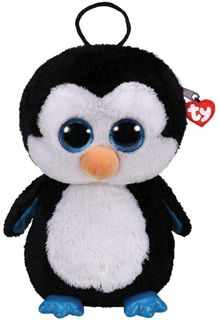 Ty Plush - Backpack - Waddles the Penguin