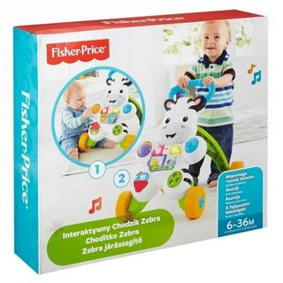 Fisher-Price - Learn with Me Zebra Walker