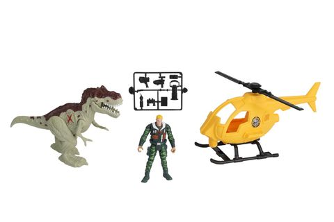 Dino Valley - Copter Attack Playset
