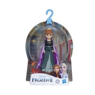 Disney Frozen 2 - Anna Small Doll With Removable Cape (15cm)