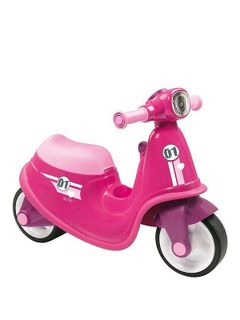 Smoby - Ride On - Scooter - Pink