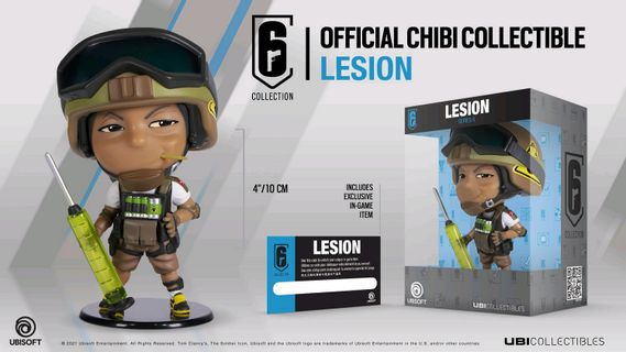 Six Collection - Lesion Chibi Figurine, Series 6