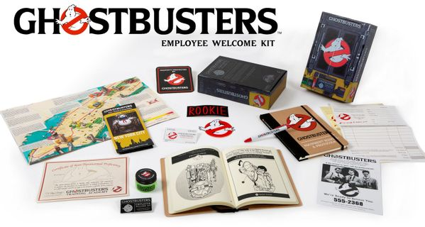 Ghostbusters - Employee Welcome Kit