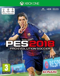 Xbox One Pro Evolution Soccer 2018 [USED] (Grade A)