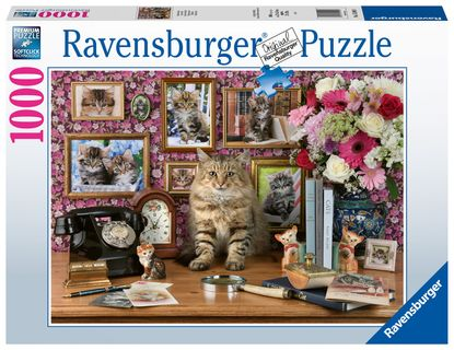 Ravensburger Puzzle 1000 pc My Cute Kitty